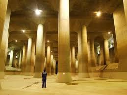 東京を洪水から守る「地下神殿」