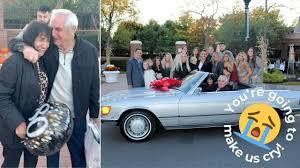 働き詰めだった祖父、80歳誕生日に憧れの車を贈られ涙
