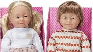 豪スーパーダウン症の子供を模した人形を販売