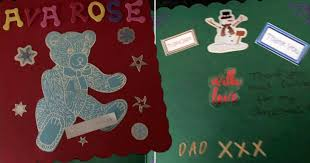 天国のパパからクリスマスカードに返事が届く