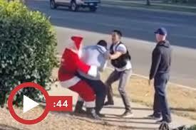 サンタ車泥棒を逮捕