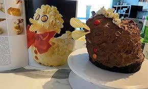 アヒルのケーキ