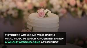 ウェディングケーキ・スマッシュ