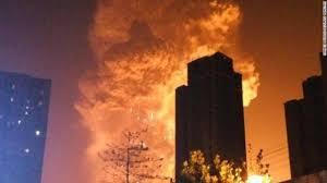中国で爆発事故