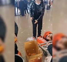 30キロのオレンジを4人で30分で食べた王さん一行