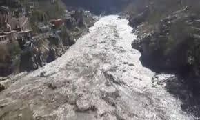 ガンジス川上流部洪水