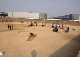西安咸陽国際空港の拡張工事現場で古墓3500基