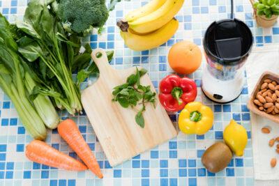 緑黄野菜や果物