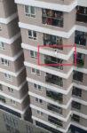 12階から転落した2歳女児を受けとめたマンション