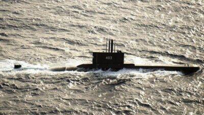 インドネシア海軍の潜水艦がバリ島沖で消息を絶った事故