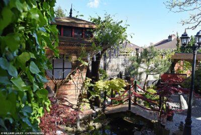 イギリス人男性が10年かけて完成した日本庭園に称賛!
