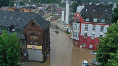 ドイツ西部で洪水 19人死亡 50人不明