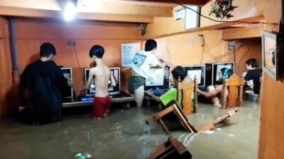 フィリピンのネットカフェでハードコアゲーマー