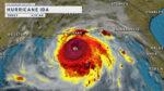 大型ハリケーンアイーダ