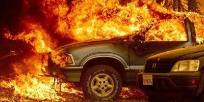 米カリフォルニアの山火事 州史上2番目の規模に